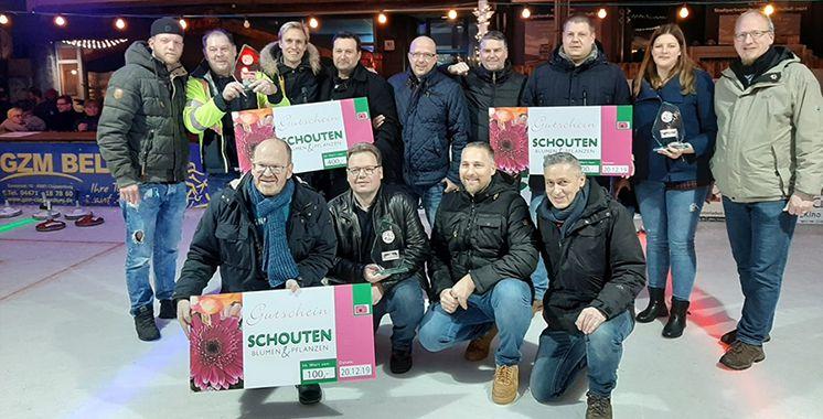 Eisstockschießen - Sieger 2019
